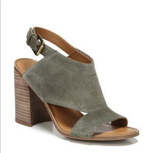 Franco Sarto Grey Suzie Cage Sandals